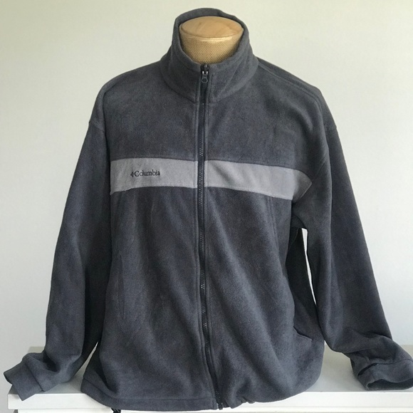 Mens Columbia Vertex Fleece Jacket XL